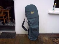 Golf clubs travel bag.