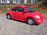 VW Beetle 2.0 Petrol Manual MOT Service History