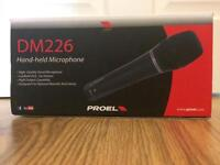 PROEL DM226 XLR HANDHELD MICROPHONE | COLLECTION ONLY