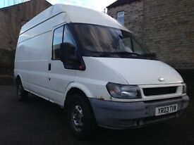 Ford transit high top lwb