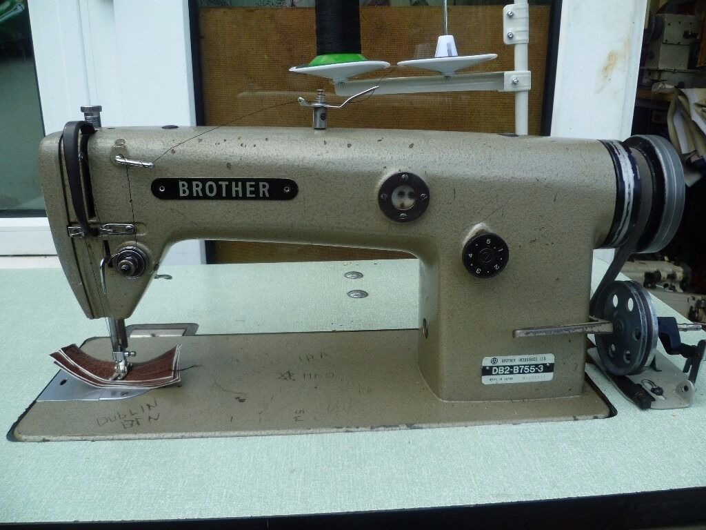 BROTHER Industrial sewing machine Model DB2 B755 3 in  : 86 from www.gumtree.com size 1024 x 768 jpeg 108kB