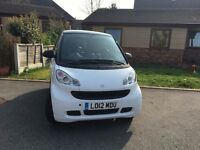 2012 Smart ForTwo Passion/incredibly cheap to run, insure, tax/sat nav/great car for new drivers