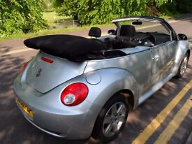 2006 VW BEETLE CONVERTABLE 1.6 LUNA 1YEARS MOT NEW BRAKE PADS AND DISCS ALL ROUND 2 PREVIOUS OWNERS