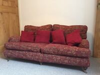 3 Seat Sofa and 2 Armchairs for sale