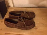 Sperry Topsiders leather size 11 or 10.5 like new
