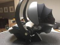 Safety first with Be safe IZI Go Car Seat from John Lewis