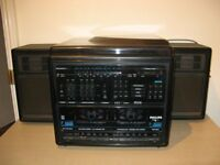 Phillips Integrated Stereo Midi System - plays records, tapes and radio.