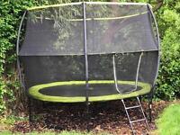 Rebo 10ft trampoline - 1 yr old