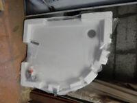 Kohler Quad White Shower Tray