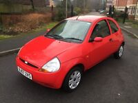 FORD KA 1.3 PETROL,12 MONTHS MOT,LOW MILEAGE,1 OWNER FROM NEW.