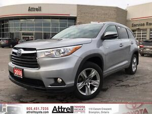 2016 Toyota Highlander Hybrid Limited Navi,Alloys,Leather,Roof,B