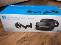 HP Windows Mixed Reality Headset VR1000 - 100 nn with Controllers Brand new