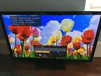 "Panasonic TX-P50X60B 50"" 720p plasma TV with Freeview"