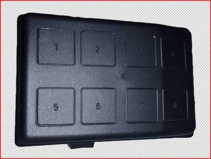 holden commodore ve 3 6l engine bay fuse box 08 2006 04. Black Bedroom Furniture Sets. Home Design Ideas