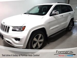 2014 Jeep Grand Cherokee Overland Diesel - Loaded - WOW