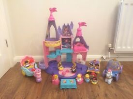 Fisher price Disney princess castle and more!!