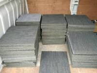 Milliken carpet tiles 45.7 cm square for £1 each