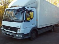 MERCEDES BENZ ATEGO BOX TRUCK 2007