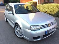Volkswagen Golf R32 4-motion manual 2004 Coupe Remapped 280bhp