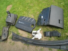 vectra cdti 150 PARTS 05-2009 £5 EACH engine cover battery tray glove + air box radiator