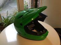 Bell Drop Full Face Helmet - Green - NEW, never used.