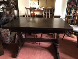 Ercol Old Colonial extendable dining table