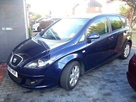 2007 Seat Altea Diesel,1.9L Excellent Engine&GearBox,Timing Belt Fully Serviced New Tyres,golf,,Audi