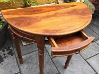 Gorgeous - Indian Hardwood Hall Table - New / Unused