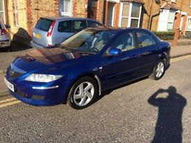 Mazda 6 1.8 TS 2002 petrol only 61,000 miles!