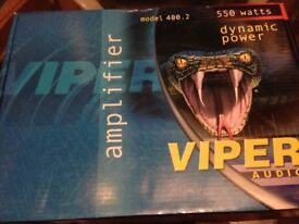 Viper 550w Amplifier dynamic brand new