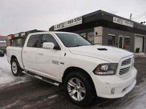 2013 Ram 1500 Sport Crew Cab Navigation DVD Heated/Vented Seats