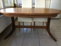 Large Nathan teak dining table
