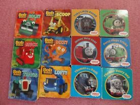 Mini Bob the Builder books and Thomas books £2 for all