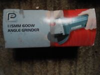 Power Electric Right Angle Grinder.