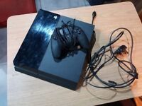 First generation Sony Playstation 4 with Nacon Revolution Pro Controller