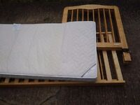 Wooden Cot & bed- AT A REDUCED PRICE!!