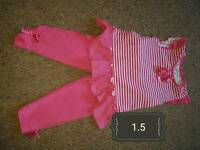 Little girl clothes 12-18. Prices on pictures. Vg con