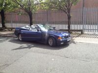 Vintage BMW328i Convertible - Running project with 13 months MOT