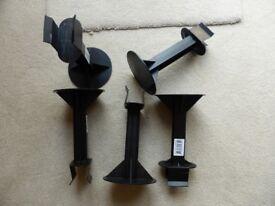 Set of 5 loft stilts