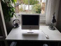 Apple Desktop - iMac G5 17inch 1.6GHz PowerPC 2GB RAM 75 GB Storage with mouse