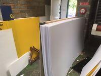 COREX ROOF SHEETING CORRUGATED PLASTIC SHEET 2.4m x1m x 4mm roof sheet, art sheet, box material,