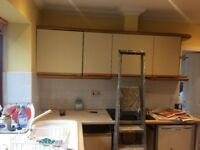KITCHEN UNITS Dismantled and undamaged - 223mm and 270mm runs