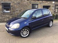 TOYOTA YARIS 1.3VVTI AUTOMATIC,12 MONTHS MOT,FULL SERVICE HISTORY,HPI CLEAR,FULLY AUTO GEARBOX