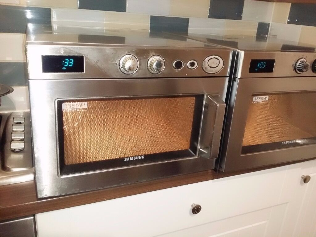 Powerful Samsung CM1919 1850W Commercial Microwave