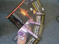 Gcse science books revision £5