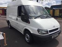ford transit semi high top van only 116000 miles only £2195 no vat