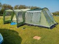 Outwell oakland xl tent and extensions