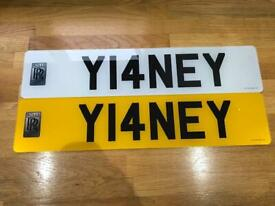 Y14NEY- YIANNI YIANEY YIANNIMIZE - private plate on retention