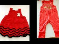 Baby girl's clothes x2