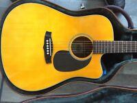 Tanglewood Nashville 5 Electro- Acoustic guitar.